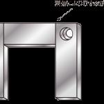 溶接付近の穴ピッチは寸法公差を緩和するbefore